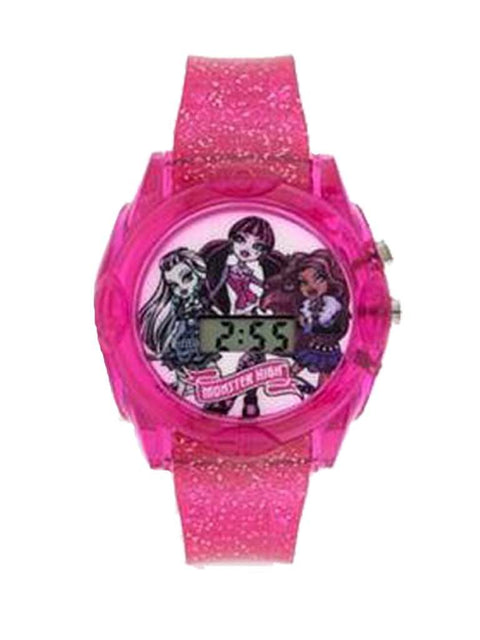 Monster High Pink Light-Up Digital Watch - Kids by Monster High - My100Brands