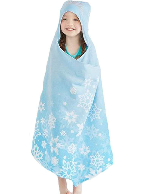 Disney's Frozen Elsa Hooded Bath Wrap by Jumping Beans - My100Brands