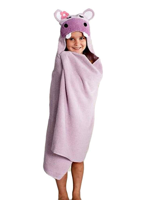 Jumping Beans Hippo Bath Towel by Jumping Beans - My100Brands