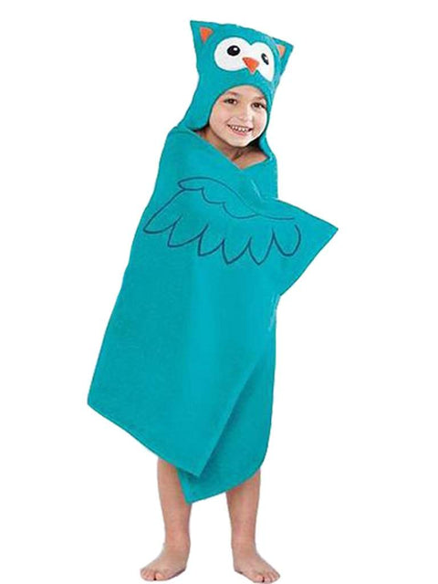 Jumping Beans Owl Bath Wrap by Jumping Beans - My100Brands