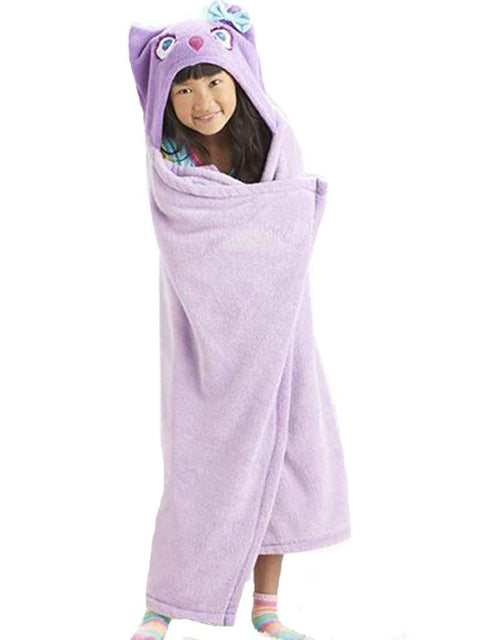 Jumping Beans Owl Microplush Hooded Throw by Jumping Beans - My100Brands