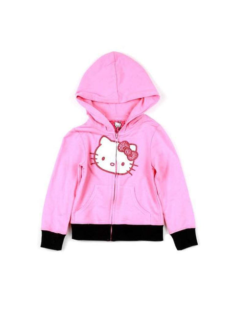 Hello Kitty Girl's Graphic Zip Hoodie by Hello Kitty - My100Brands