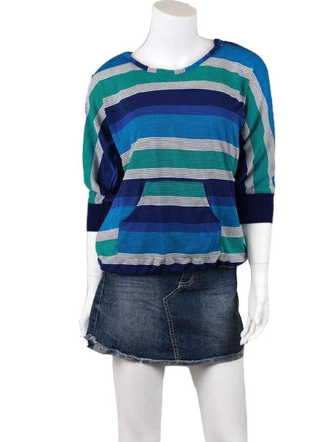 Girls' Stripe 2-Pc Hoodie and Tank by My100Brands - My100Brands