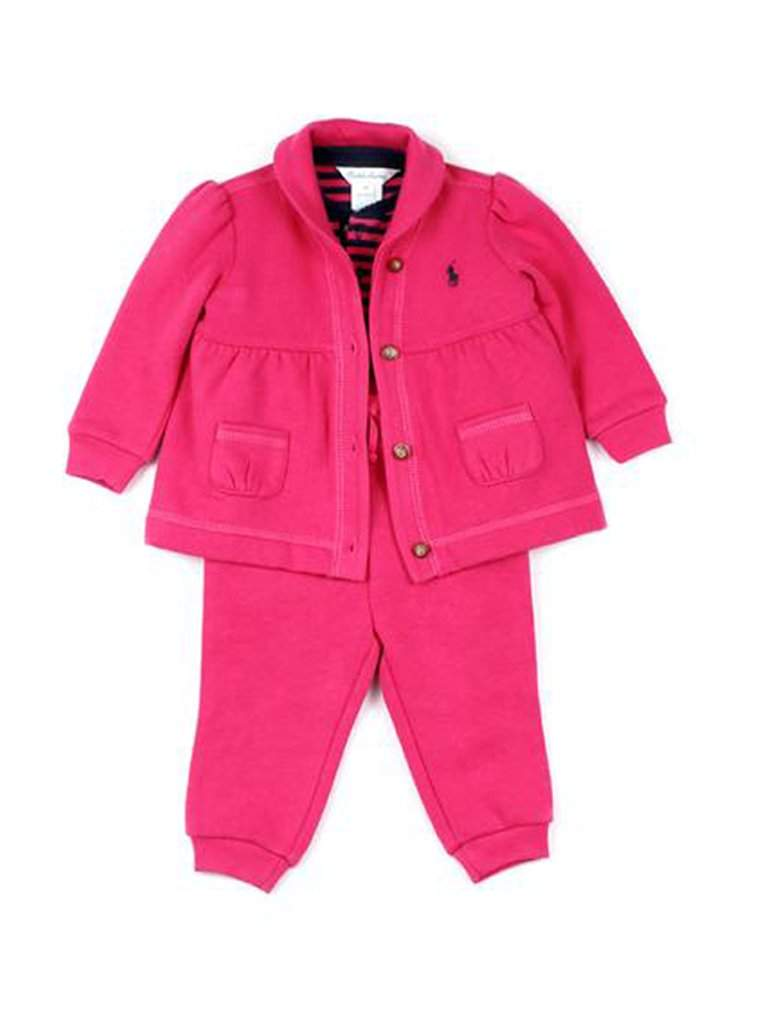 Ralph Lauren Infant Girls' 3-Pc Set by Ralph Lauren - My100Brands