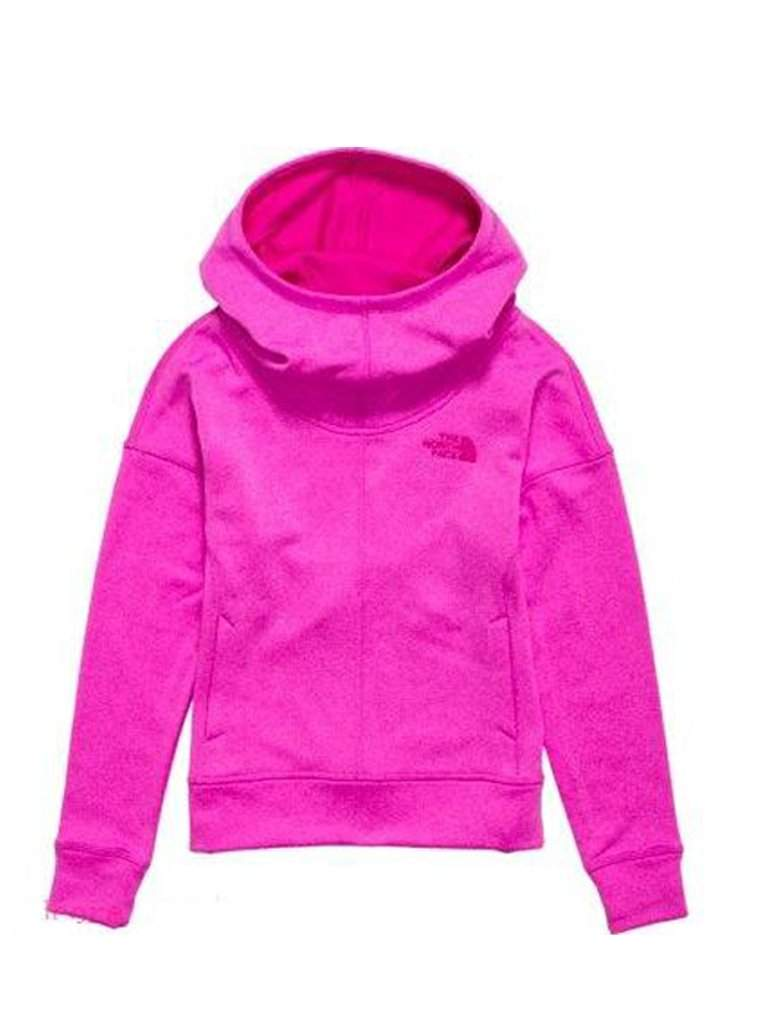 The North Face Girls' Hoodie - Azalea Pink by The North Face - My100Brands