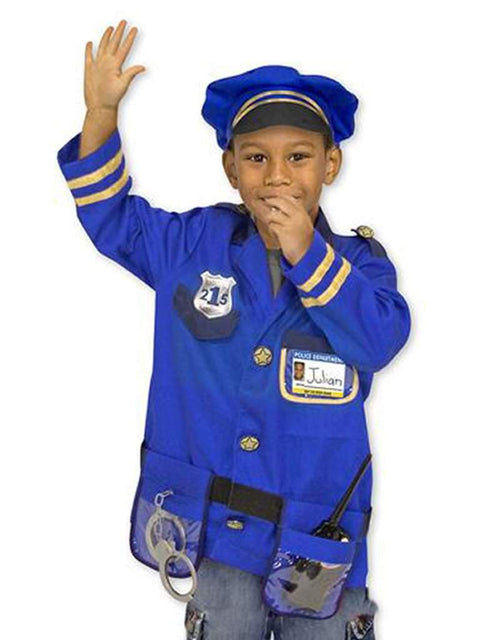 Melissa & Doug Police Officer Role Play Costume Set by Melissa & Doug - My100Brands