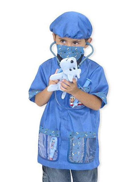 Melissa & Doug Veterinarian Role Play Costume Set by Melissa & Doug - My100Brands