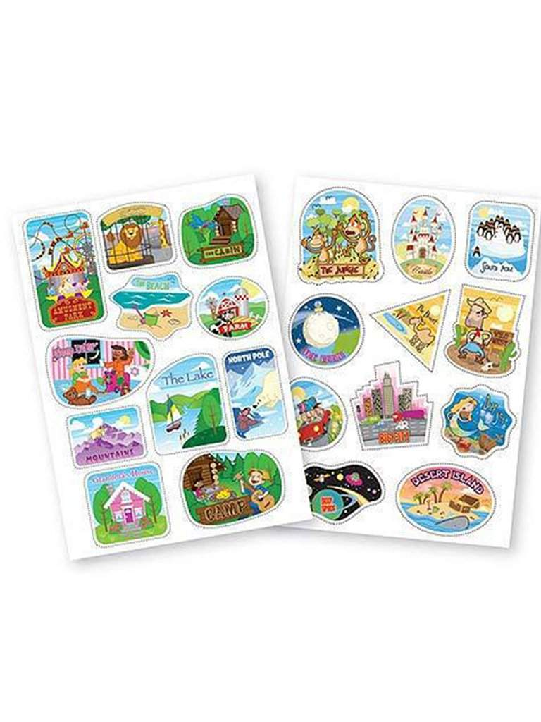 Melissa & Doug Trunki Destination Stickers by Melissa & Doug - My100Brands