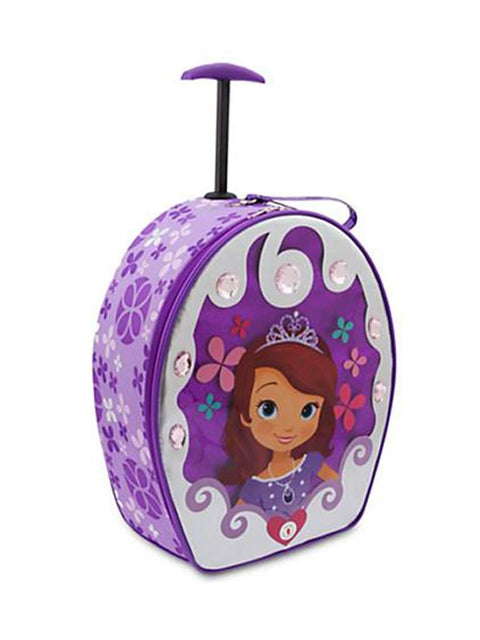 Disney Sofia the First Rolling Light Up Luggage by My100Brands - My100Brands