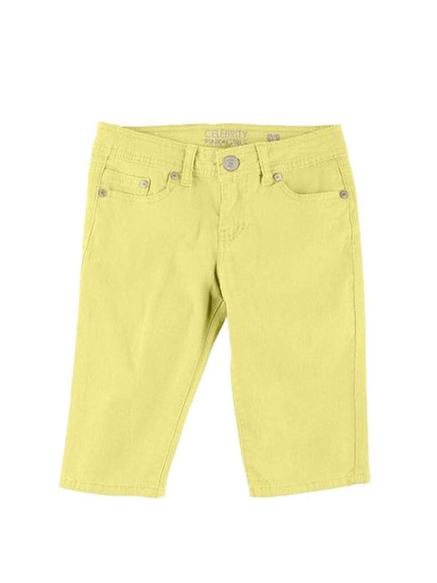 Celebrity Pink Girl's Lemon Shorts by Celebrity Pink - My100Brands