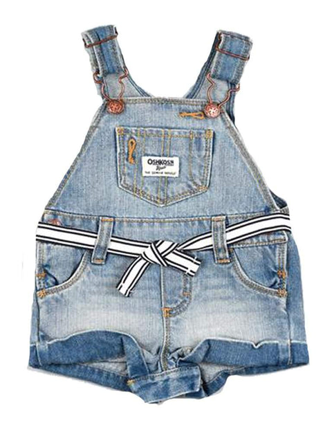 OshKosh B'Gosh Baby Girl Denim Shortall by OshKosh B'gosh - My100Brands