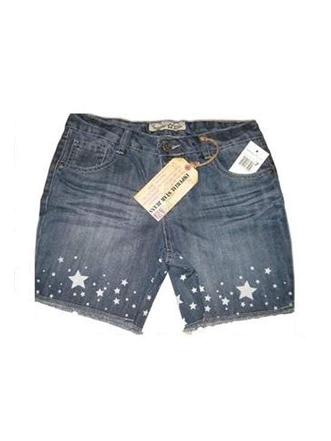 Imperial Star Girls Jeans Denim Shorts by Imperial Star - My100Brands
