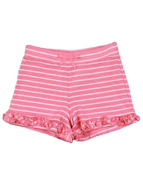 Girls' Ruffle Bow Shorts by My100Brands - My100Brands