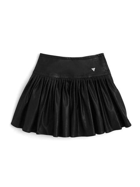 Guess Girl's Pleated Faux Leather Skirt by Guess - My100Brands