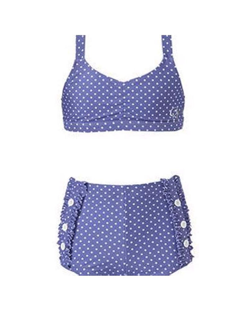 Guess Girls Two-Piece Dot-Print Swimsuit by Guess - My100Brands
