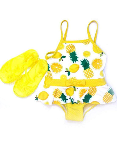 Wippette Swimwear Jellies-Yellow by Wippette - My100Brands