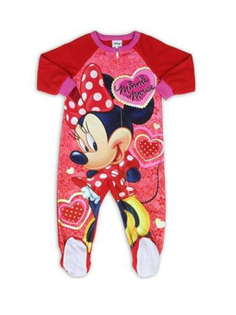 Minnie Mouse Girls' Blanket Sleeper by My100Brands - My100Brands