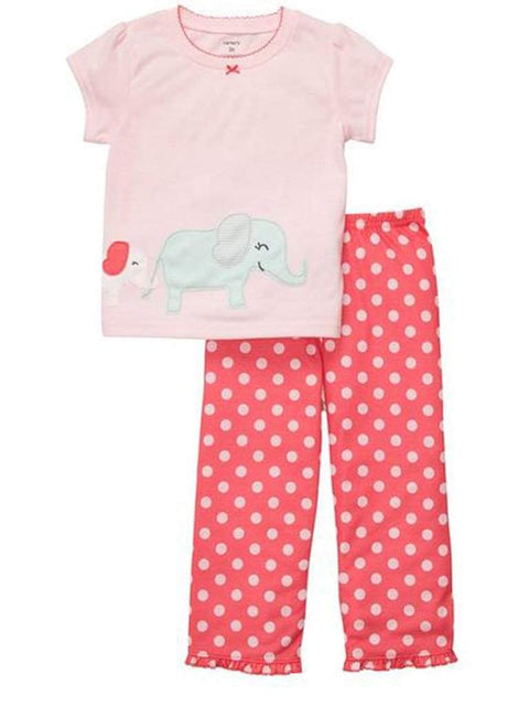 Carter's Polka-Dot Elephant Pajamas by Carters - My100Brands