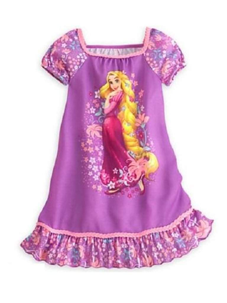 Disney Princess Rapunzel Nightgown Pajamas by Disney - My100Brands
