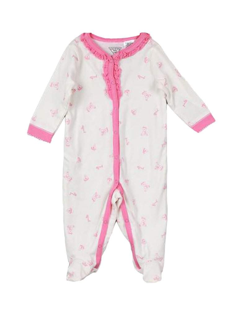 Guess Girl's Footie Sleeper by Guess - My100Brands