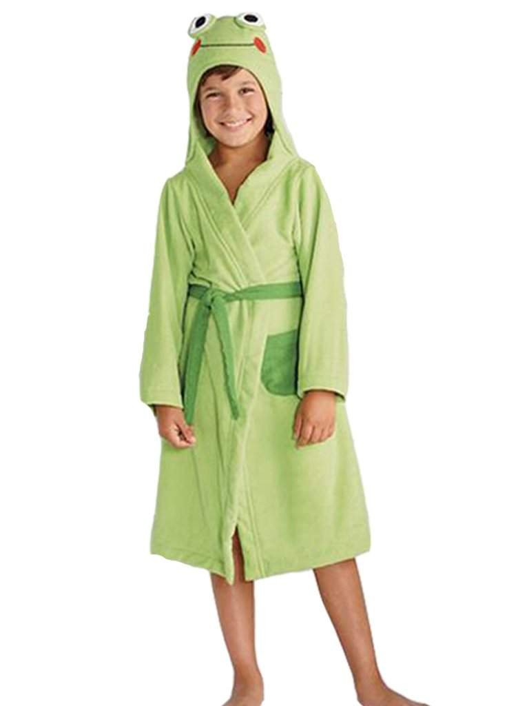 Jumping Beans Frog Bath Robe by Jumping Beans - My100Brands