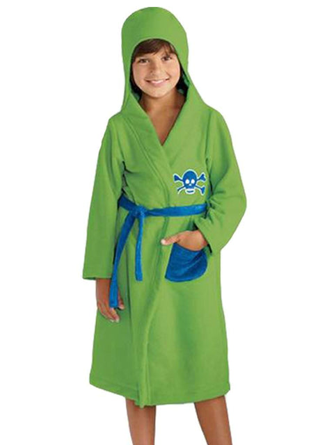 Jumping Beans Skull Bath Robe by Jumping Beans - My100Brands