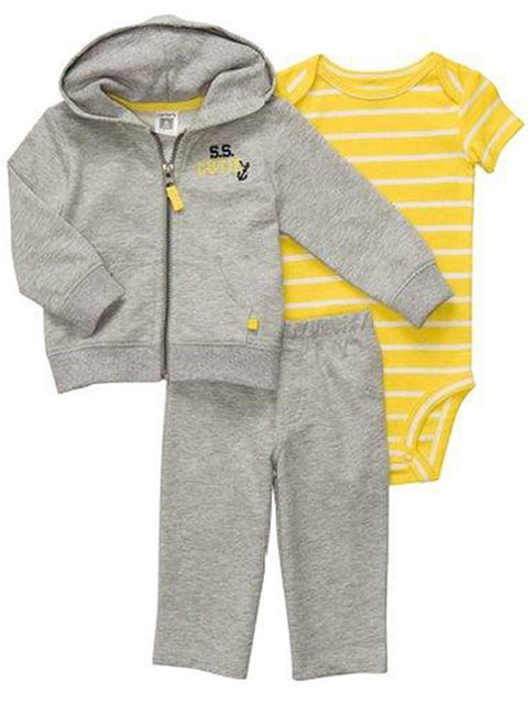 Carter's Baby Boy S.S. Cutie Cardigan 2-Pc Set by Carters - My100Brands
