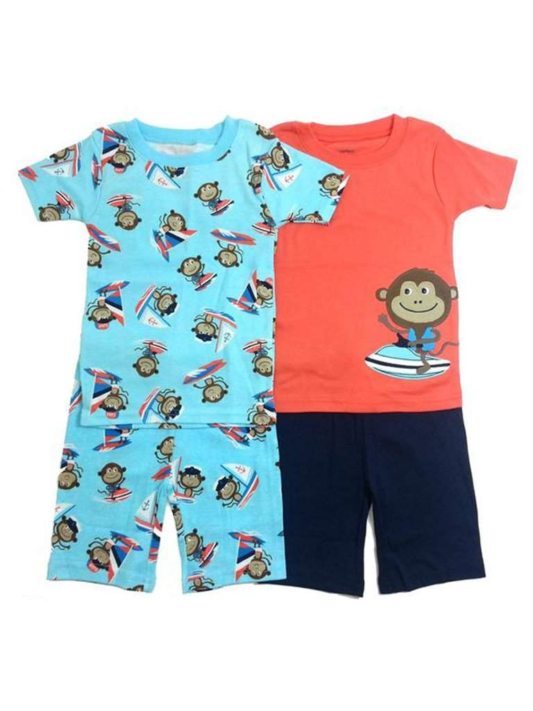 Carter's Sailing Monkey Pajama Set by Carters - My100Brands