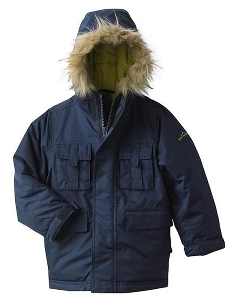 Eddie Bauer Parka Dark Navy Combo Jacket by Eddie Bauer - My100Brands