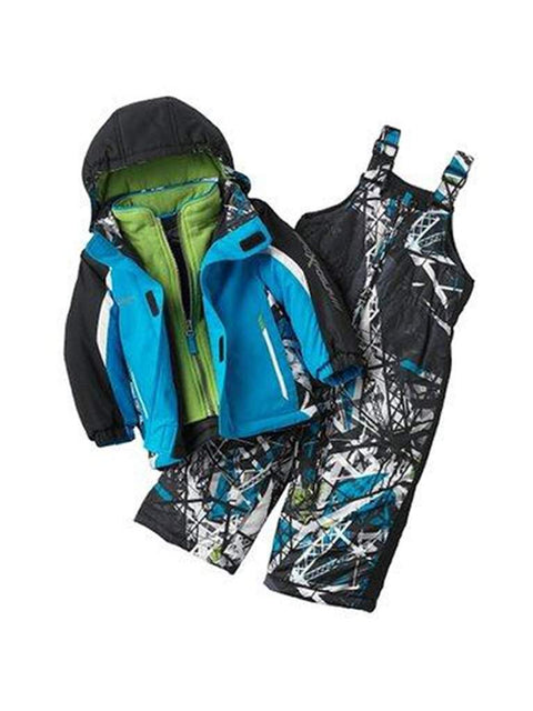 ZeroXposur Dawson Mock-Layer Jacket and Snow Bibs Set - Baby by ZeroXposur - My100Brands