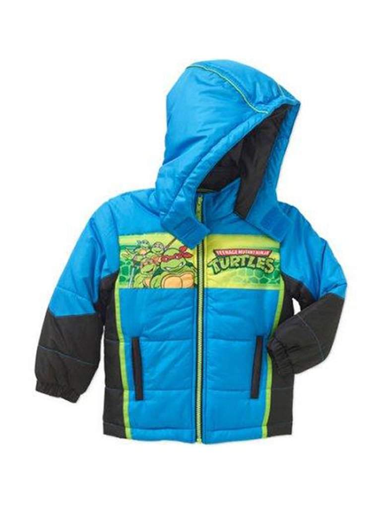 Teenage Mutant Ninja Turtles Puffer Jacket by Nickelodeon - My100Brands