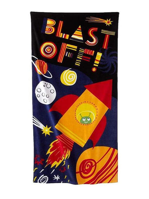 Blast Off Beach Towel by My100Brands - My100Brands