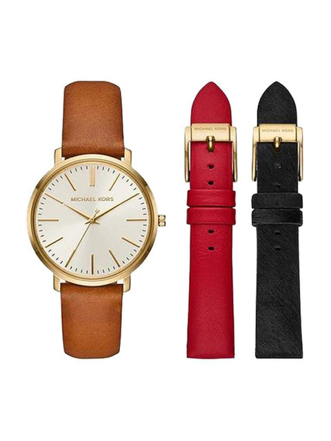 Michael Kors Jaryn Gold-Tone Watch Set by Michael Kors - My100Brands
