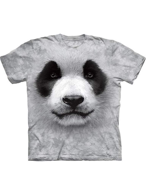 Big Face Panda T-Shirt by The Mountain - My100Brands