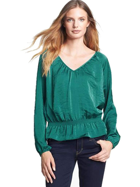 Michael Kors Women's Long Sleeve Blouse by Michael Kors - My100Brands
