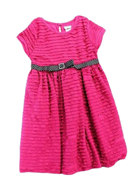Sweet Heart Rose Little Girls' Ruffle Dress by Sweet Heart Rose - My100Brands