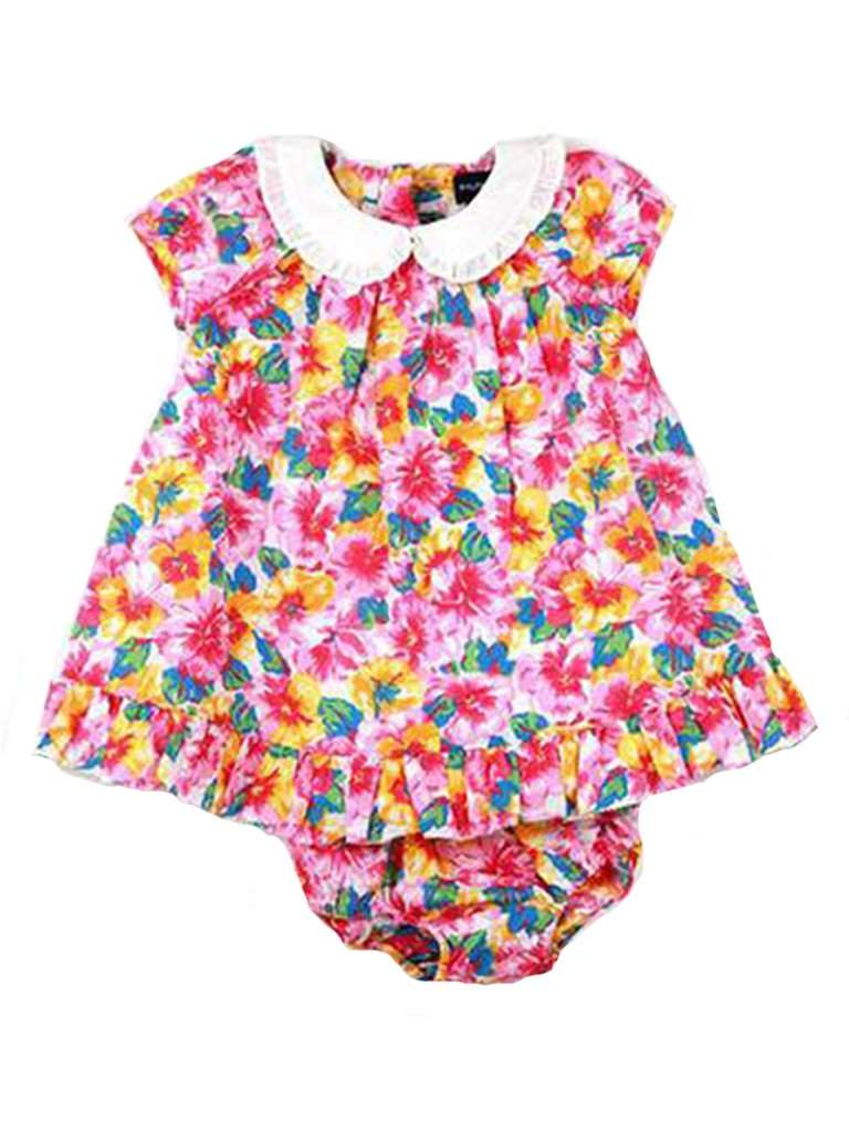 Ralph Lauren Infant Girls' Floral Dress 2-Pc Set by Ralph Lauren - My100Brands