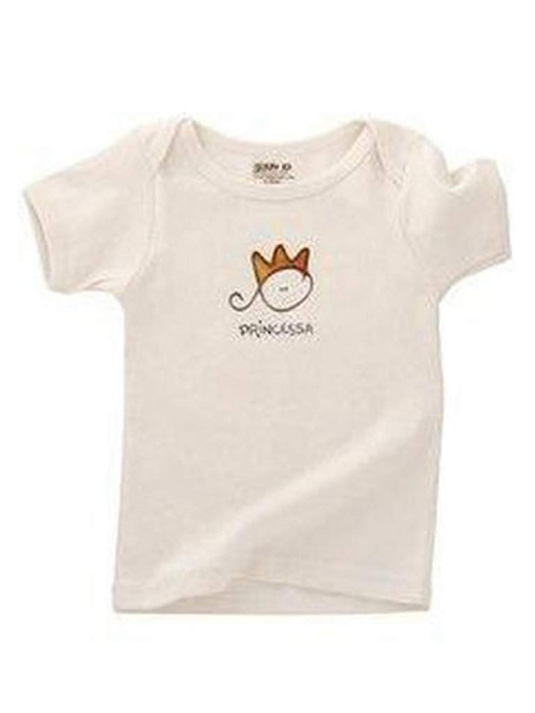 Kee-Ka Organic Short Sleeve Lap Tee-Princessa by My100Brands - My100Brands