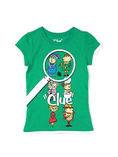 Clue Screen Print Game Tee Shirt by My100Brands - My100Brands