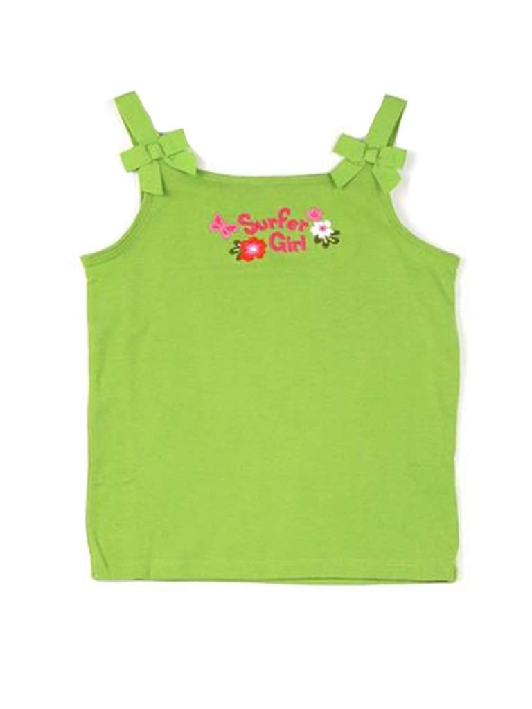 Bow Strap Surfer Girl's Tank by My100Brands - My100Brands