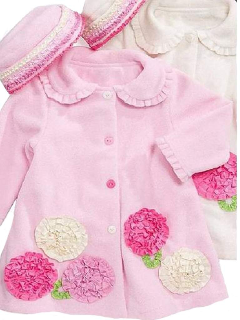Bonnie Jean Girl's Fleece Coat and Hat Set by Bonnie Jean - My100Brands