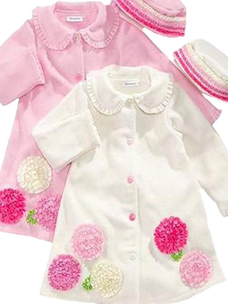 7604c99233df9 Bonnie Jean Girl's Fleece Coat and Hat Set by Bonnie Jean - My100Brands