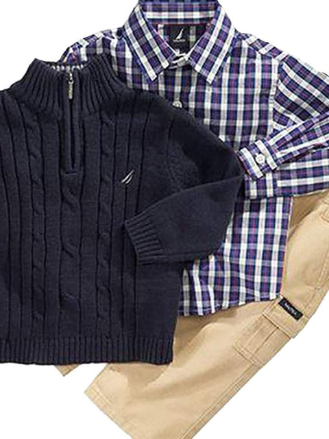 Nautica  Boys 3 Piece Sweater Set by Nautica - My100Brands