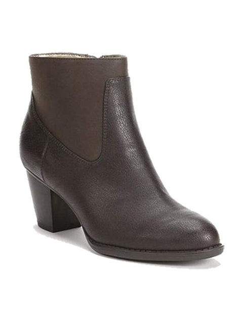 Chaps Misa Women's Faux Leather Fashion Ankle Boots by My100Brands - My100Brands