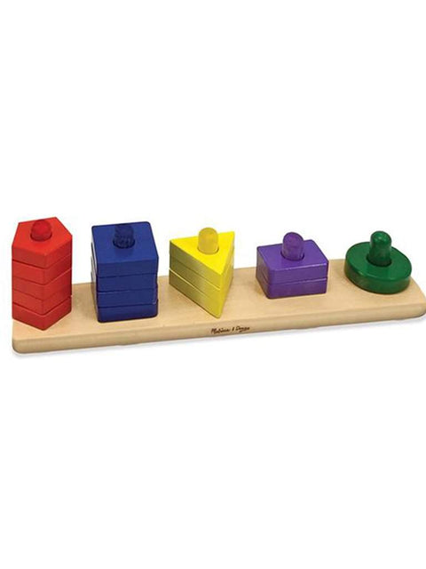 Stack and Sort Board by Melissa & Doug - My100Brands