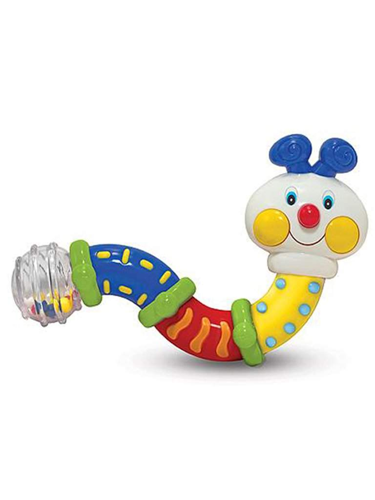 Twisting Inchworm Rattle Baby Toy by Melissa & Doug - My100Brands