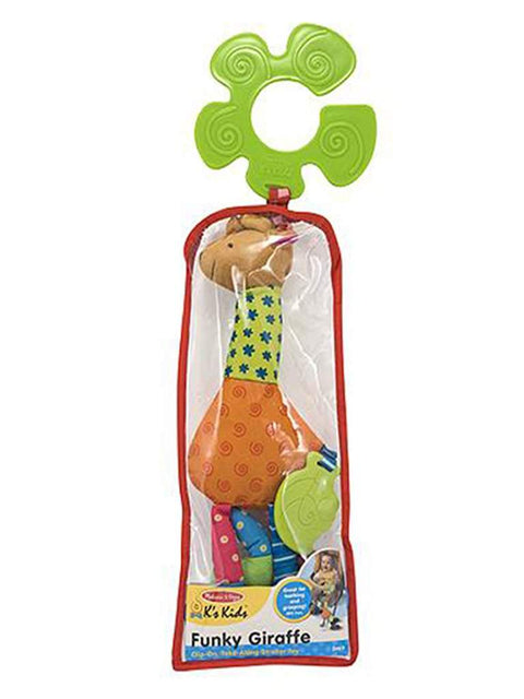 Funky Giraffe Stroller Pal Baby Toy by Melissa & Doug - My100Brands