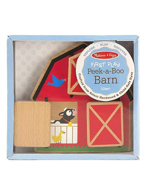 Peek-a-Boo Barn Baby & Toddler Toy by Melissa & Doug - My100Brands