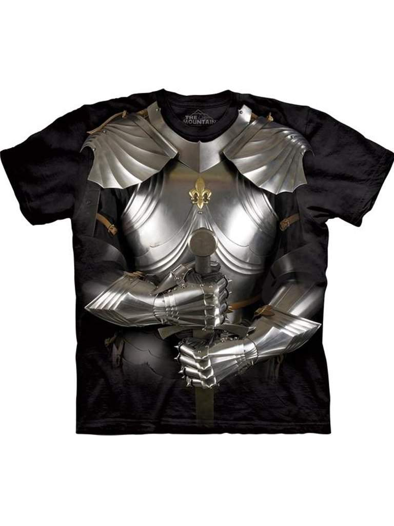 Body Armor T-Shirt by The Mountain - My100Brands