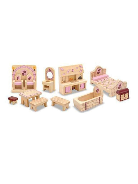 Princess Castle Furniture by Melissa & Doug - My100Brands